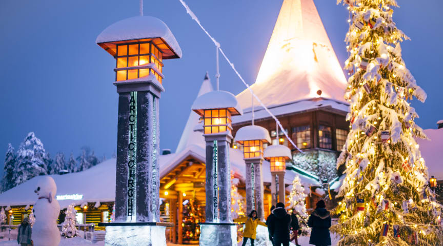 This summer 2020 is the 70th anniversary of Santa Claus Village in Rovaniemi Lapland