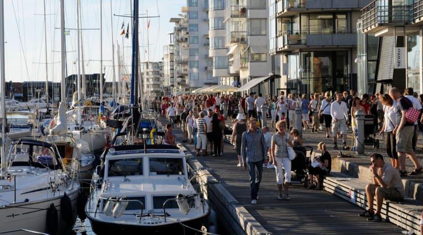 Norra hamnen i Helsingborg
