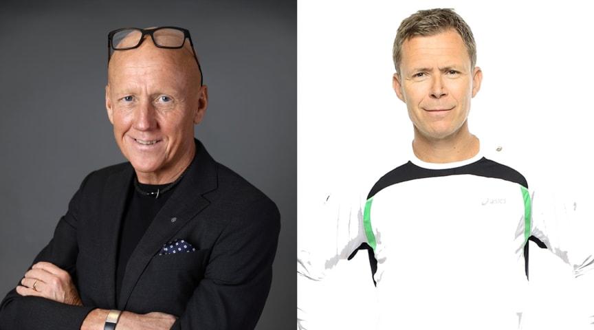Michael Thorén, vd för En Svensk Klassiker, och Patrik Yderberg, vd för Springtime Group, är glada över samarbetet.