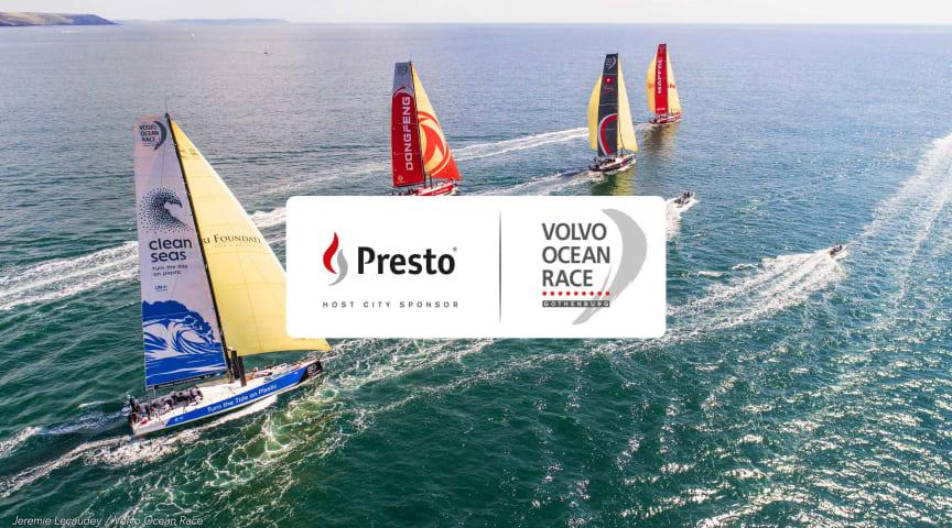 Tryggt och förberett för upplevelser i världsklass – Presto är Official Supplier till Volvo Ocean Race stoppet i Göteborg