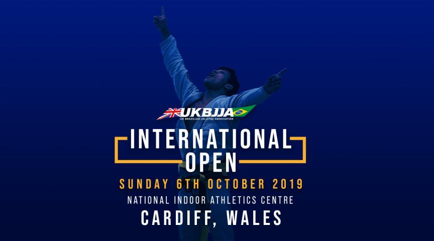 UKBJJA International Open Tournament of Brazilian Jiu Jitsu 2019 - 6 October 2019 - Cardiff, Wales