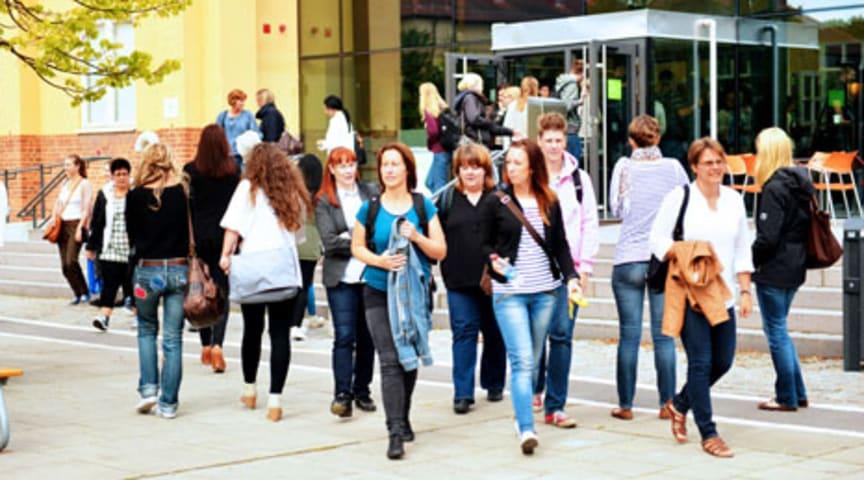 Rekordökning av sökanden till Högskolan Kristianstad