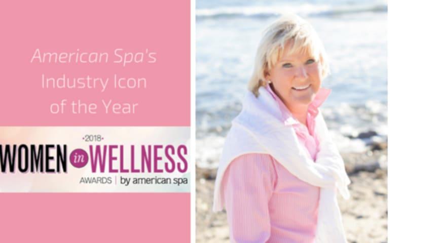 Kerstin Florian - utnämnd till Industry Icon på American Spa´s  Women in Wellness Awards 2018