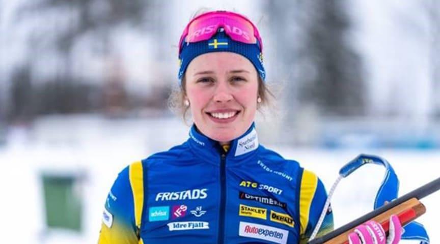 Elvira Öberg blir ny ambassadör för Sparbanken Nord. Foto: Nicklas Olausson