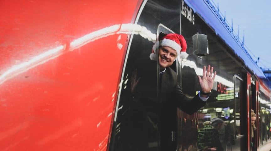 MTR Express VD Mats Johannesson vill se att SJs monopol på biljettförsäljning upphör. Bild: MTR Express