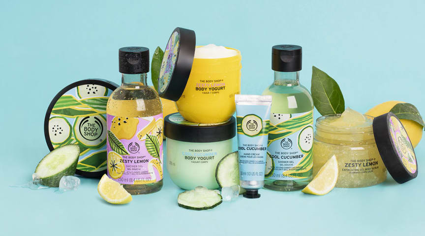 Vink farvel til vinteren og byd solen velkommen med Cool Cucumber og Zesty Lemon