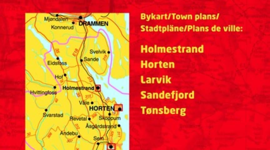 Cappelen Damms Kart Over Vestfold Fylke Karet Til Beste Kart I