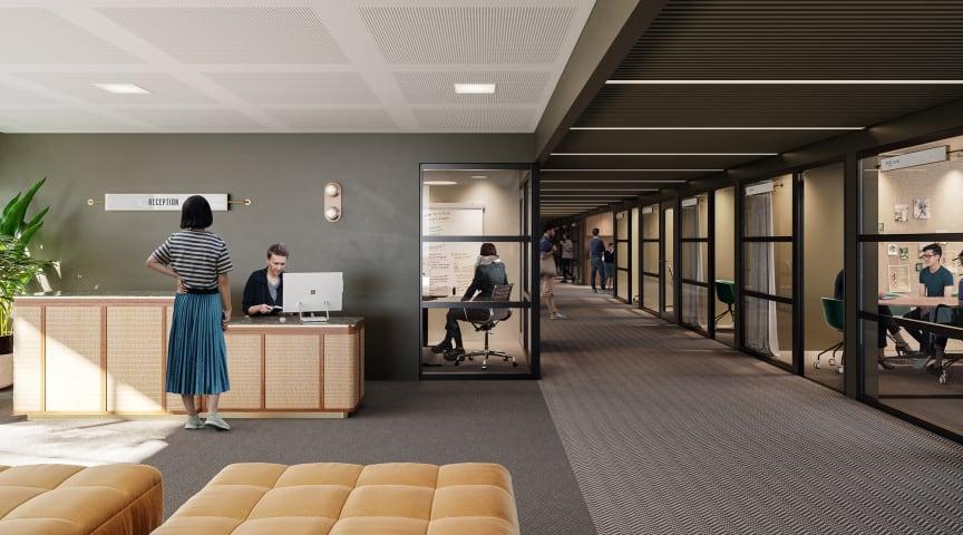 Privata kontorsytor med fullservice från 200 kvm och uppåt mitt på Vasagatan