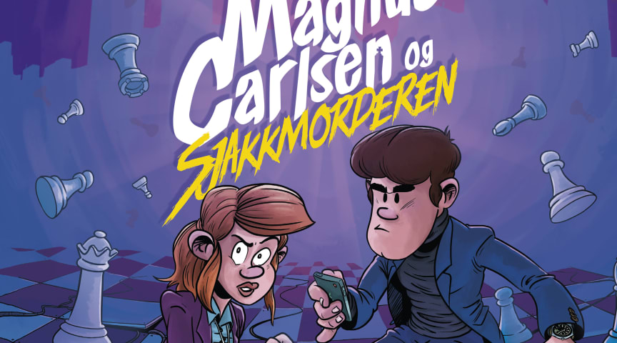 Følg sjakkgeniet Magnus Carlsen og politibetjent Maud på jakt etter en gåtefull og smart serimorder!