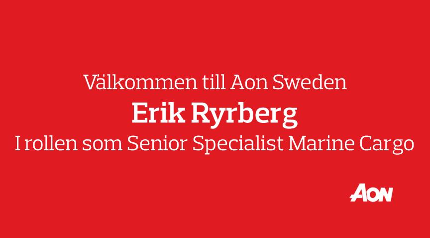 Välkommen till Erik Ryrberg!