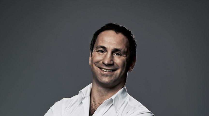 Paolo Roberto inspirerar till träning och sprider matglädje vid Stora Nolia i Piteå i sommar