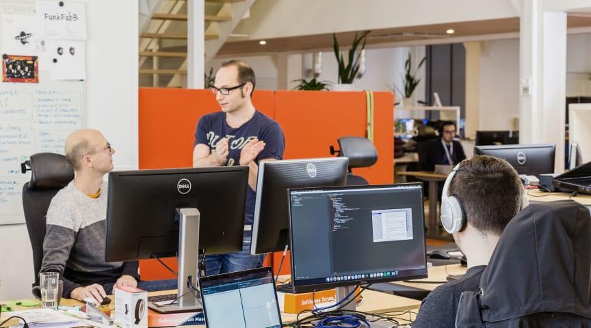 Softhouse arbetar kontinuerligt med kompetensutveckling.