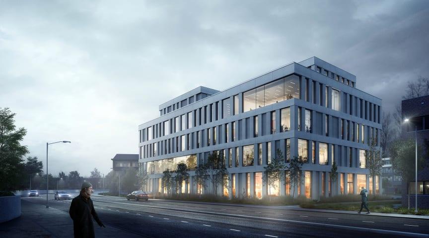 AART tegner markant kontorbygg i Oslo