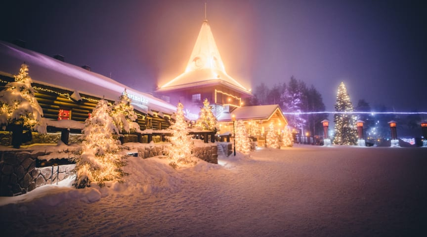 Santa Claus Office is closing the doors from visits here on the Arctic Circle but opening a window to Christmas magic via daily live stream