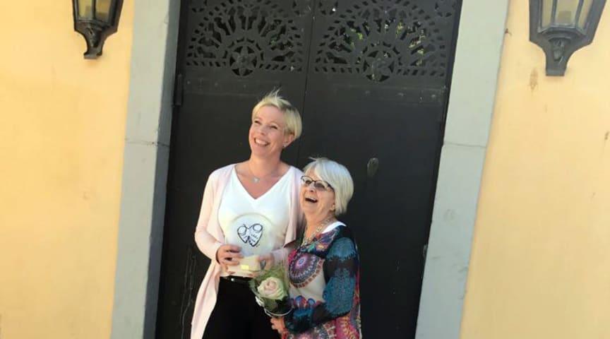 Pernilla Johansson och Elise Lindqvist