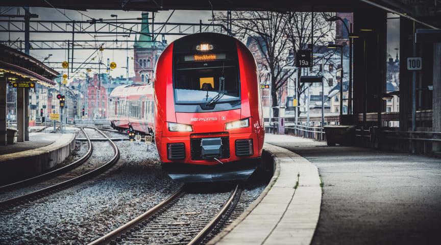 Nu kommer MTR Express till Solna. Bild: MTR Express