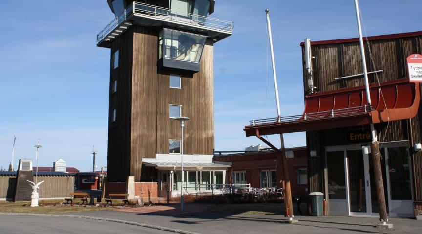 20 % passagerarökning på Skellefteå Airport