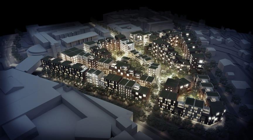 AART utvikler Ski sentrum sør for Oslo