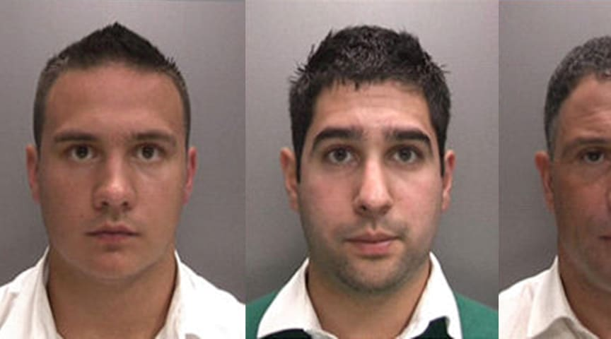 Fake 'Customs Officers' jailed