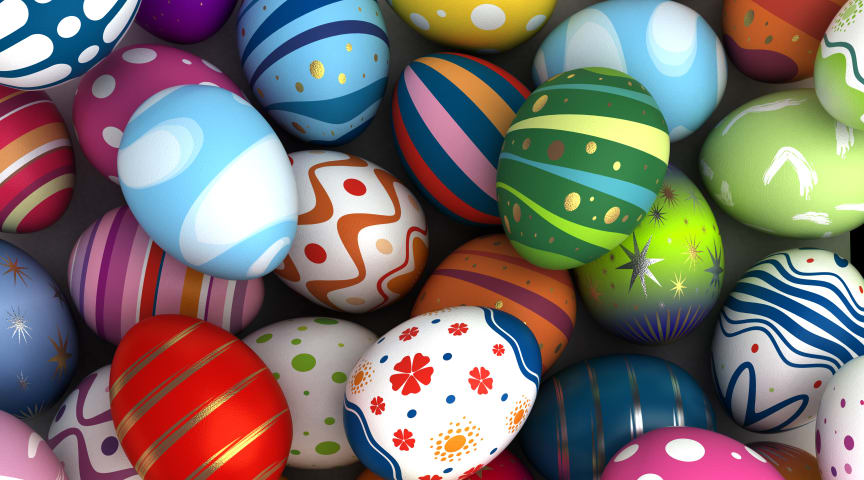 The closing date for schools to express their interest in the Easter egg competition is 5pm on Friday 13 March