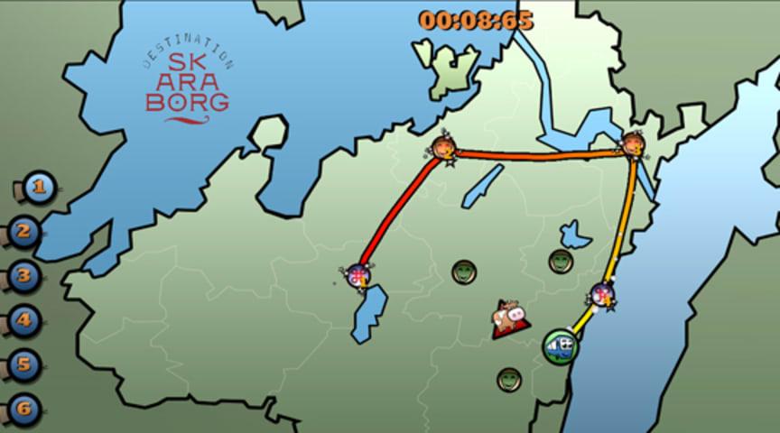 Apparatens dataspel ska sälja destination Skaraborg