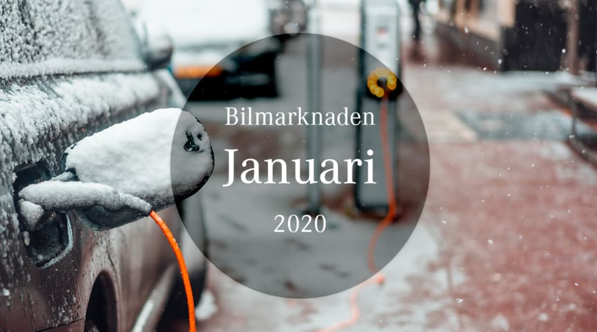 Bilmarknaden januari 2020
