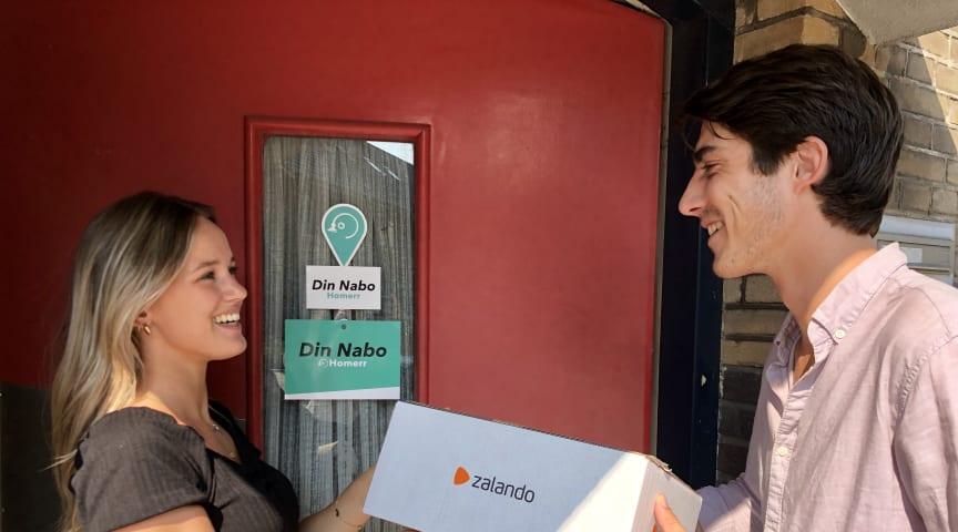 Zalando delar positiva resultat från test med hämt- och returställen drivna av privatpersoner