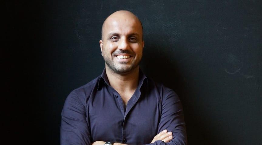 Alán Ali, ordförande för riksorganisationen MÄN och frilandsföreläsare föreläser på årets Fadimedag.