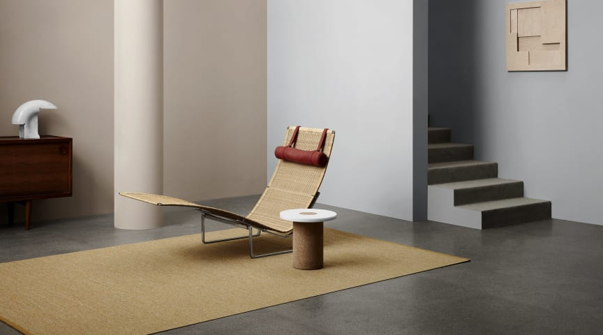 The Harper rug, designed by Ellinor Eliasson, is part of Kasthall's new collection Colors In Between.