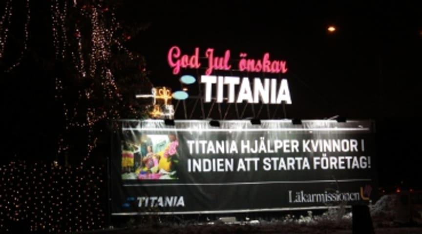 Titania stödjer Läkarmissionen julen 2012!