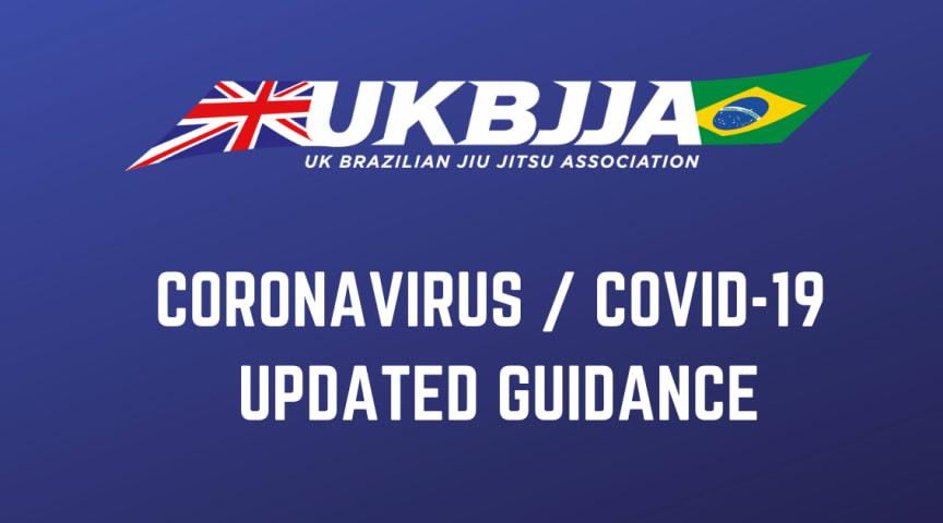 UKBJJA updated guidance on Coronavirus / Covid-19