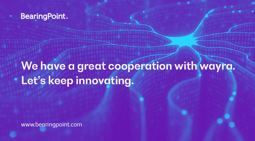 BearingPoint and wayra go for second round of collaboration