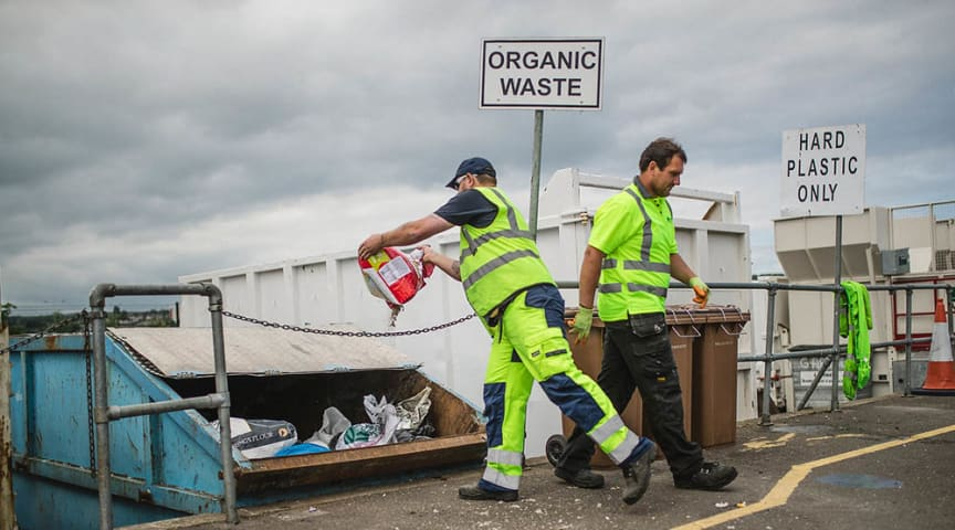 Household Recycling Centres to close from this evening