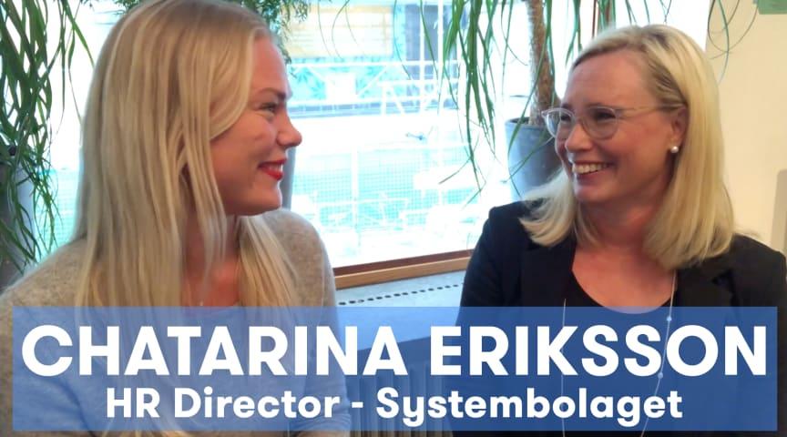 Jobylon träffar Chatarina Eriksson, HR-Direktör på Systembolaget för att prata HR's roll i imponerande kundlöftet