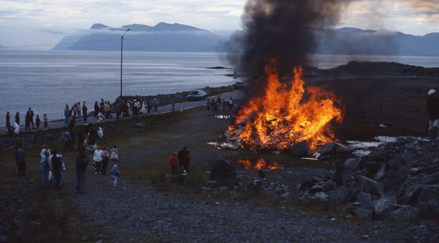 Elda försiktigt på Valborgsmässoafton