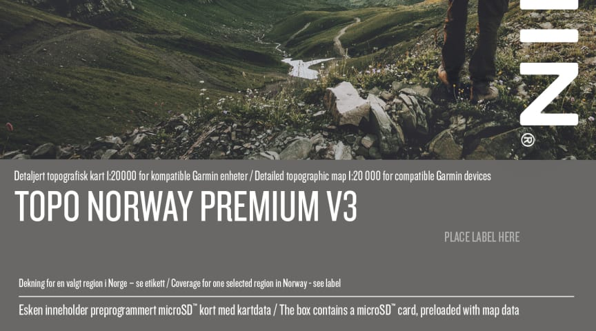 Topo Norway Premium V3 Detaljert Topografisk Kart 1 20 000 For