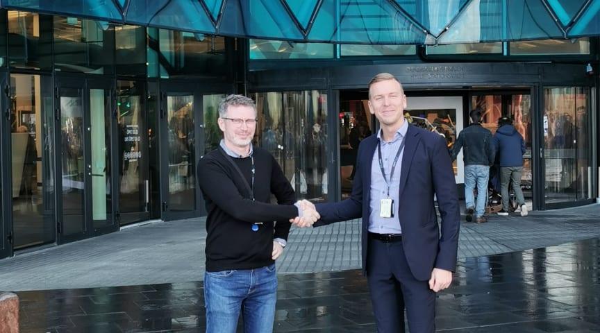 Martin Lundquist, Emporia och Konrad Sööder, Avarn Security.