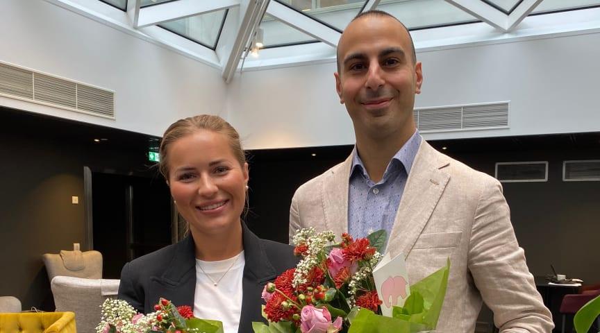 Julia Hellman och Filip Bahno nya franchisetagare i Göteborg Väster