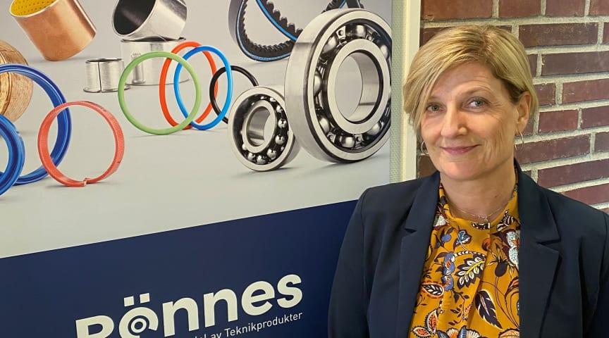 Ulrika Tumfart, Teknikprodukters och Rönnes nya säljare i Norra Sverige
