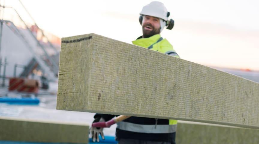 Genanvendelig stenuldsløsning hæver brandsikkerheden på Islands Brygges nye grønne vartegn