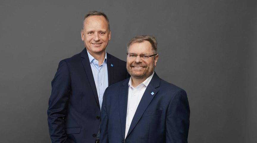 Lars Thinggaard and Lars Larsen (photo credit to Casper Helmer)