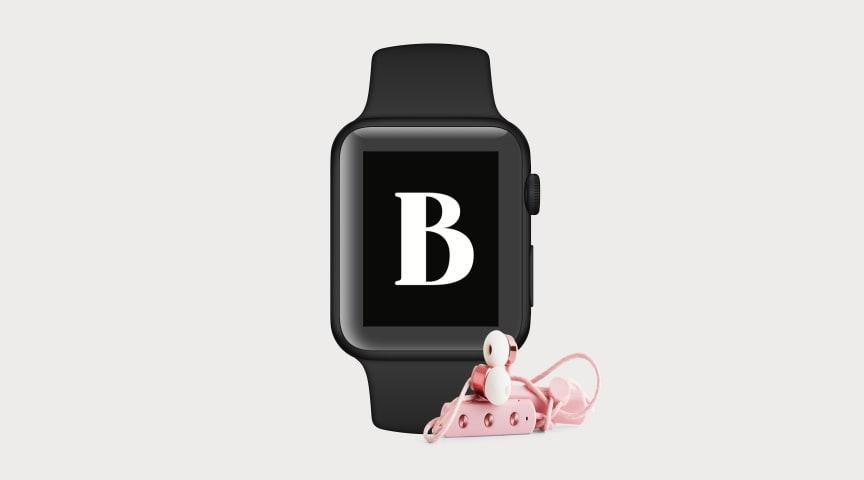 Nu kan du lyssna på ljudböcker via din BookBeat-app i Apple Watch