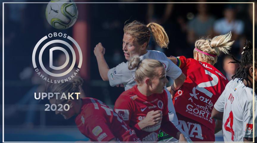 Upptaktsträff 2020 OBOS Damallsvenskan, obs inställd!