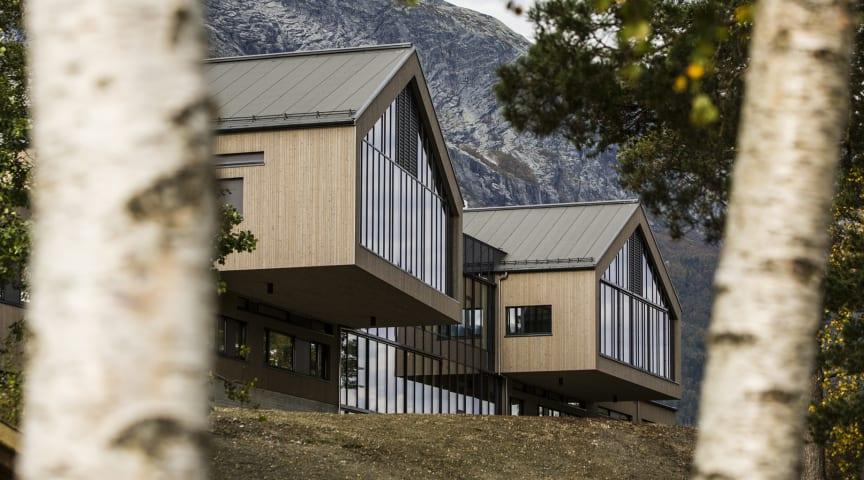 Voss videregående skole vant international arkitekturpris