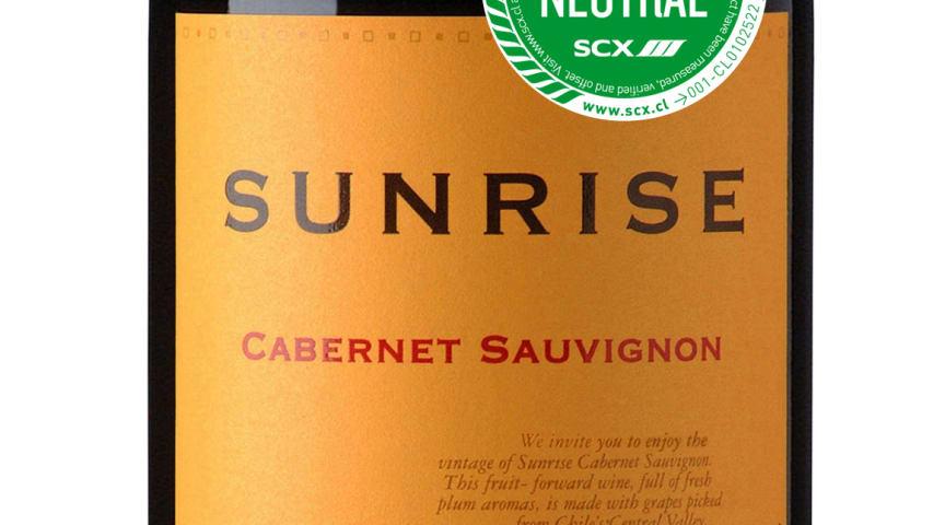 Sunrise – det koldioxidneutrala vinet
