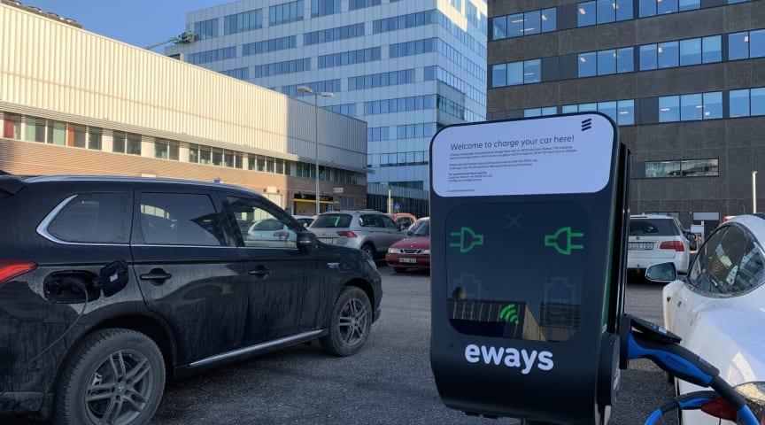 Eways välkomnar Ericsson