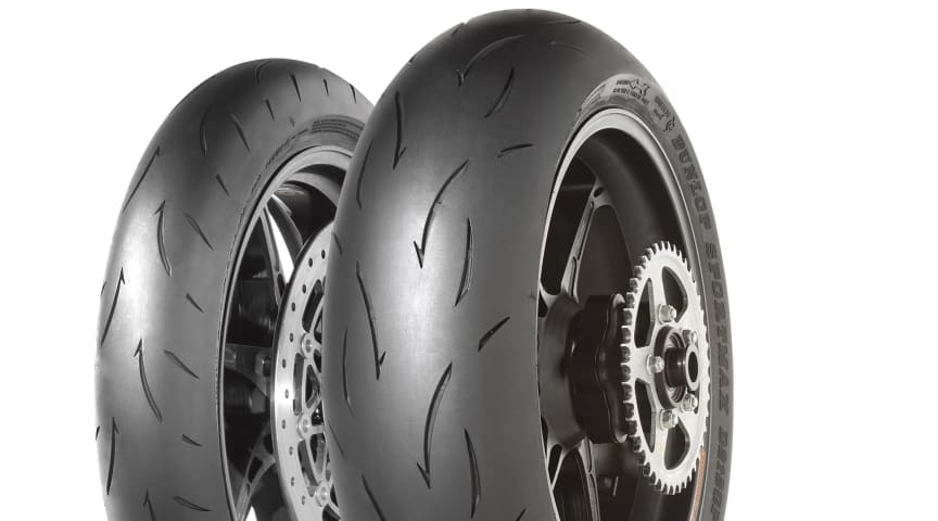 Dunlop lanserer neste generasjon racingdekk for motorsykler