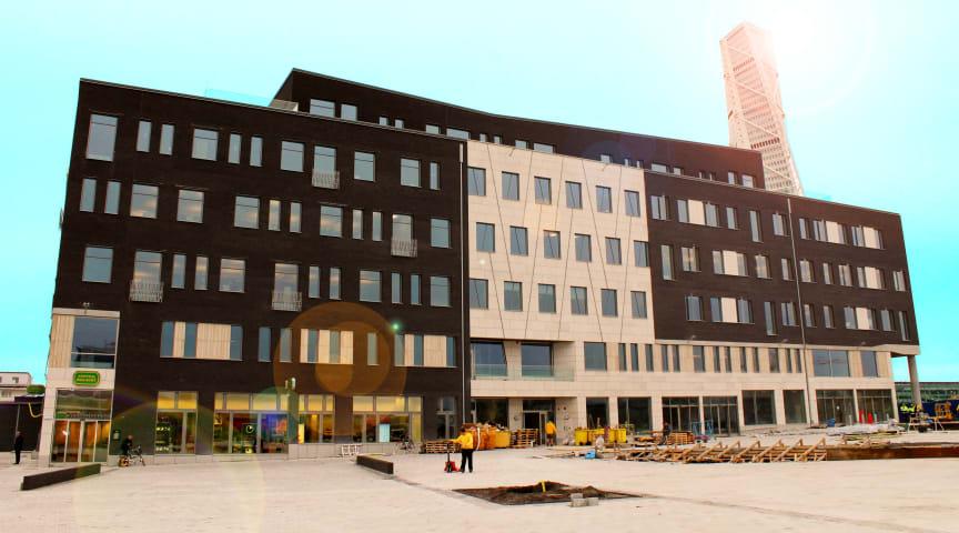 Nytt kontorshus i Masthusen når sverigehögsta betyg för hållbarhet enligt BREEAM