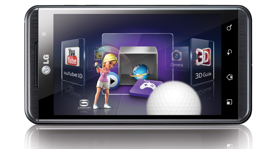 Maailman ensimmäinen 3D-puhelin LG Optimus 3D kauppoihin heinäkuussa