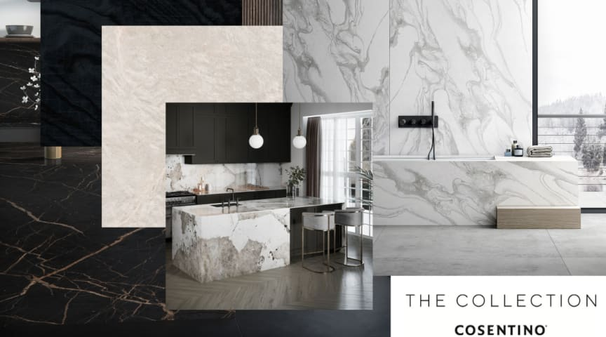 Nyt lanceringskoncept | The Collection Cosentino® 2020